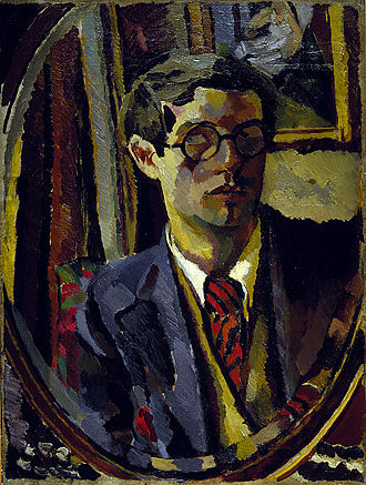 Duncan Grant - Self Portrait, 1920, National Gallery of Scotland