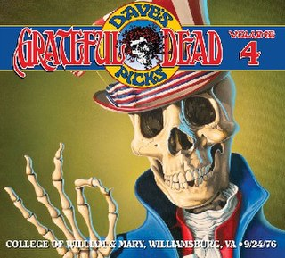 <i>Daves Picks Volume 4</i> 2012 live album by Grateful Dead
