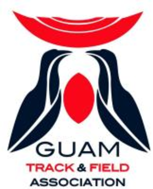 Guam Track and Field Association - Image: Guam Track and Field Association Logo