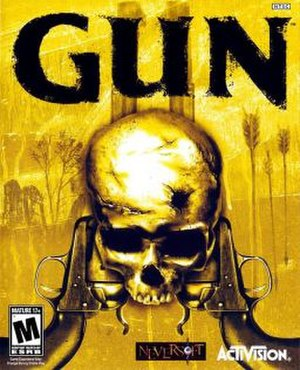 Gun (video game) - Image: Gun Coverart
