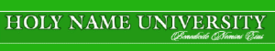 The logo of the Holy Name University