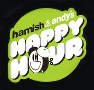 Hamish & Andy (radio show) - Happy Hour logo