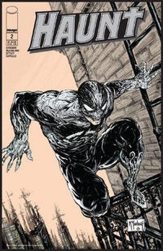 Haunt (comics) - Image: Haunt (comic book, issue 2 front cover)