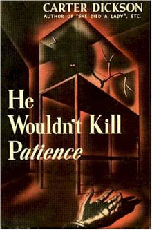 He Wouldn't Kill Patience - Wikipedia
