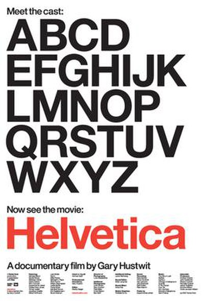 Picture of a movie: Helvetica