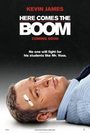 Here Comes the Boom - Theatrical release poster
