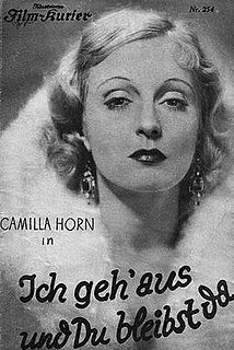 <i>I Go Out and You Stay Here</i> 1931 film