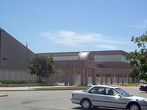 Lynwood High School - View from Imperial Highway