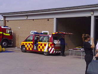 Devon and Somerset Fire and Rescue Service - Incident Command Vehicle