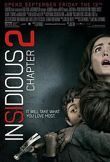 <i>Insidious: Chapter 2</i> 2013 horror film by James Wan