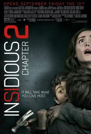 Insidious: Chapter 2 - Theatrical release poster