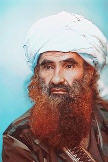 Jalaluddin Haqqani Afghan leader of the Haqqani network (1939–2018)