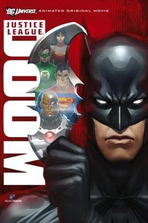 Justice League: Crisis on Two Earths - Justice League: Doom movie poster.