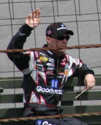 2001 NASCAR Busch Series - Kevin Harvick, the 2001 Busch Series champion