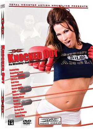 Impact Knockouts - TNA Knocked Out DVD by featuring Karen Jarrett