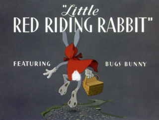 <i>Little Red Riding Rabbit</i> 1944 animated short film directed by Friz Freleng