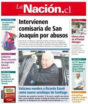 La Nación (Chile) - Image: La Nación (16 December 2010)