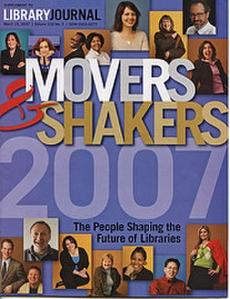 Library Journal - Image: Library Journal Movers & Shakers 2007 cover