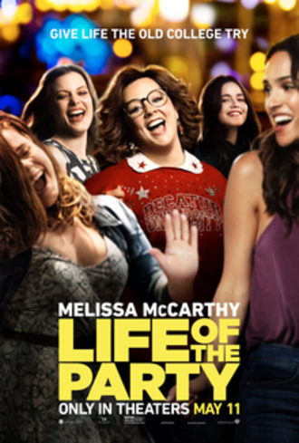 Life of the Party (2018 film) - Theatrical release poster
