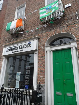 Limerick Leader - Limerick Leader offices, O'Connell Street.