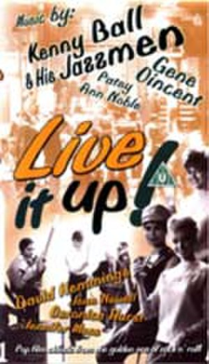 Live It Up! (film) - DVD cover design