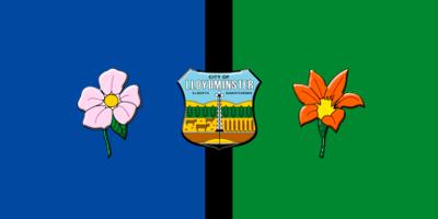 Flag of Lloydminster