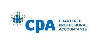 Chartered Professional Accountant - Image: Logo of CPA English