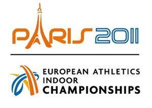 2011 European Athletics Indoor Championships - Image: Logo paris 2011