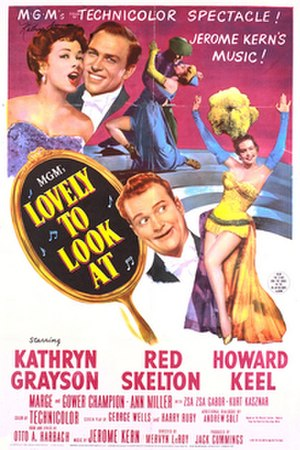 Lovely to Look At - Theatrical release poster