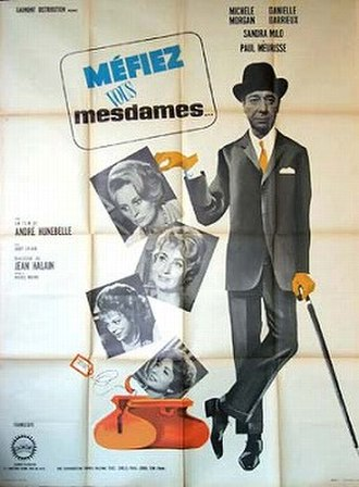 Méfiez-vous, mesdames - Theatrical poster