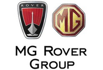 MG Rover Group - Image: MG Rover Corporate Logo