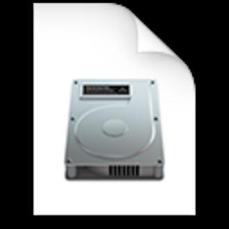 Apple Disk Image - Image: Mac OS X Disk Image