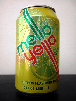 Mello Yello retro 2010 can