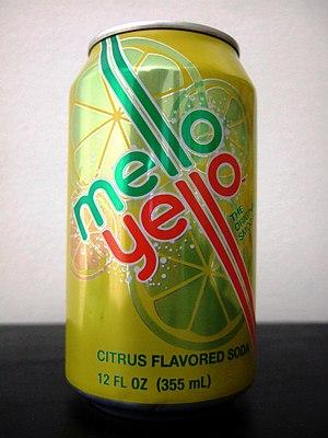 Mello Yello - Mello Yello retro 2010 can