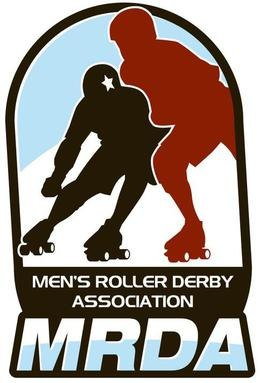 Men's Roller Derby Association (logo)