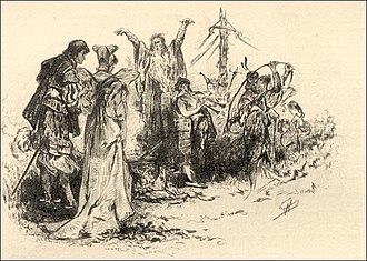 Merry Mount (opera) - Illustration to the short story on which the opera is based