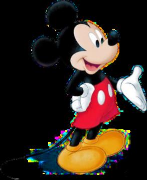 <i>Mickey Mouse</i> Disney cartoon character