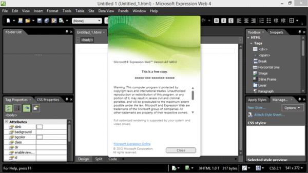 Microsoft Expression Web Wikiwand