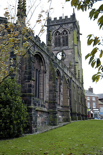 Middlewich - The Parish Church of St Michael and All Angels