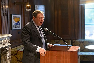 Mikhail Fridman - Fridman speaking at the L1 Energy launch on 14 September 2015 in New York.