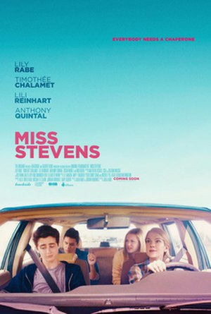 Miss Stevens - Theatrical release poster