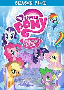 Mlpfim Season 5 Dvd Cover