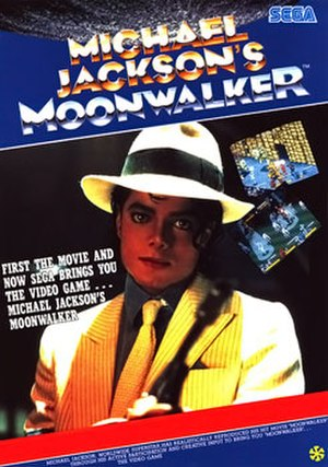 Michael Jackson's Moonwalker - European arcade flyer of Michael Jackson's Moonwalker.