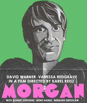 Morgan – A Suitable Case for Treatment - French poster under the title Morgan!