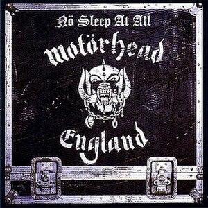 Nö Sleep at All - Image: Motörhead No Sleep at All