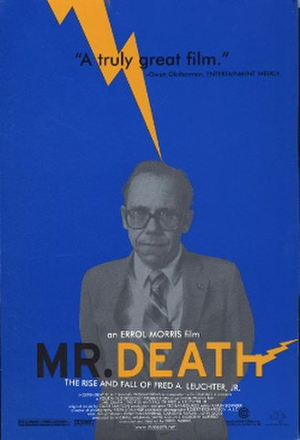 Mr. Death: The Rise and Fall of Fred A. Leuchter, Jr. - Theatrical poster