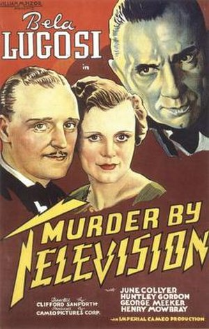 Murder by Television - Film poster for Murder by Television