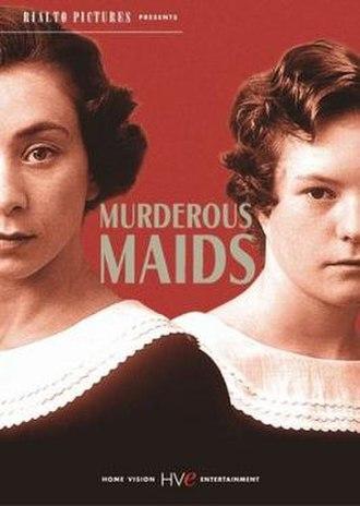 Murderous Maids - Film poster