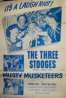 <i>Musty Musketeers</i> 1954 film by Jules White