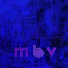 "Alternate shades of blue with ""mbv"" written in lowercase purple text."